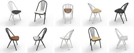 The Surpil Chair by DCW at Casa e Jardim, Algarve