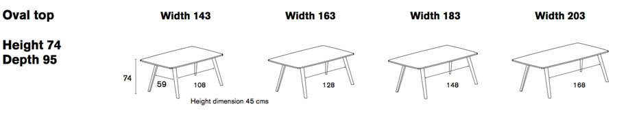 Aise Dining Table Specs