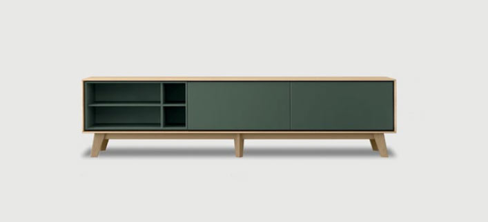 Aura tv units by Treku