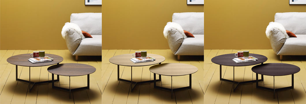 Kabi Coffee Table by Treku - Finishes