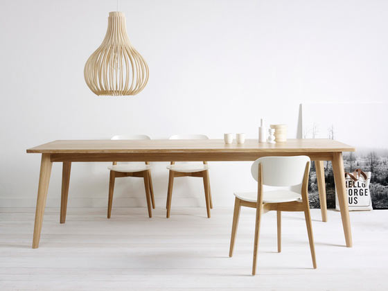 Dan Dining Table by Vincent Sheppard