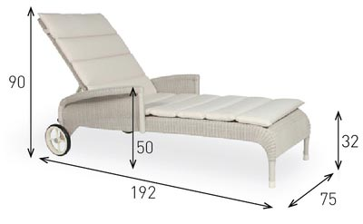 Safi Sunlounger by Vincent Sheppard